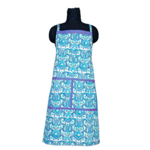 Hand Block Printed Cotton Apron