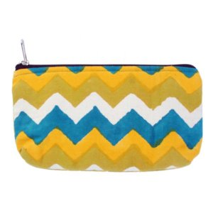 Hand Block Printed Cotton Multi Storage Pouch