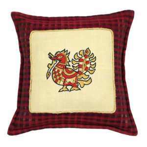 Handloom Cotton Cushion Cover